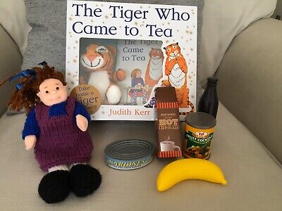 The Tiger Who Came To Tea Story Sack Resources With Sack