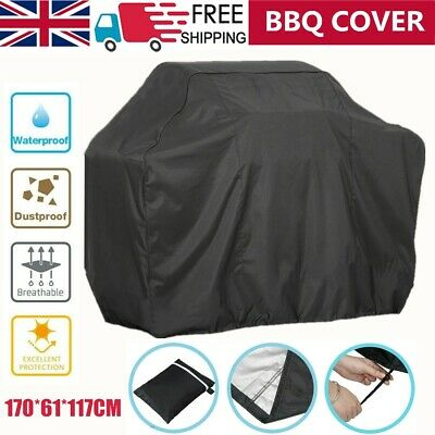 XL 170CM BBQ Cover Waterproof Garden Barbecue Grill Heavy Duty Extra Large