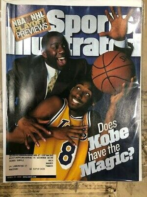 April 27, 1998 Kobe Bryant Los Angeles Lakers First RC Sports Illustrated