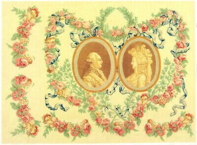 Rice Paper for Decoupage Scrapbooking Sheet Craft Rococo Lovers