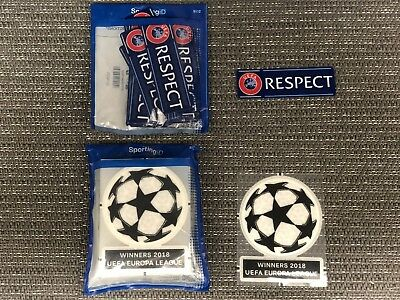 Atletico Madrid - UEFA Champions League 2018/19 Starball RESPECT Sleeve Patches