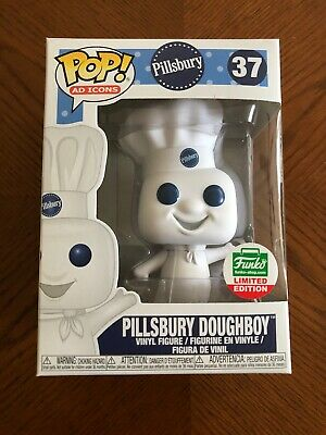 Funko Pop Ad Icons Pillsbury Doughboy Funko Shop Exclusive with Protector