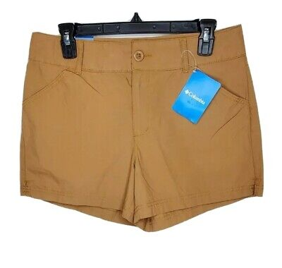 Columbia Sportswear Womens Washed Out Khaki Short Shorts Reg Fit Sizes 4-16 NWT