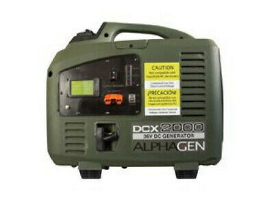 Alpha Gen DCX2000 36v Inverter Series DCX 2000 Generator Plus Accessories
