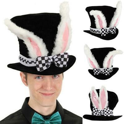 Bunny Rabbit Ears Tail Kit Fancy Dress Costume Party Accessories Pink Black