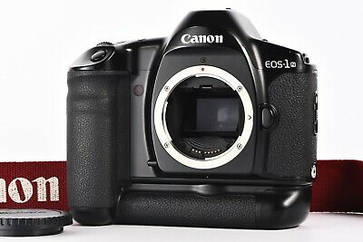 """""""Excellent+++"""" Canon EOS-1N 35mm SLR Film Camera With BP-E1 From Japan"""