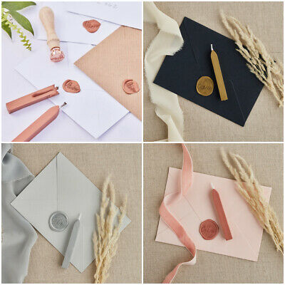 Wax sealing stick Stamp Love Heart wedding invitations envelope Rose Gold Silver