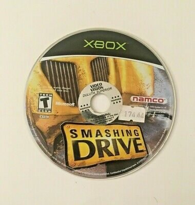 Smashing Drive (Microsoft Xbox, 2002) Disk Only Tested