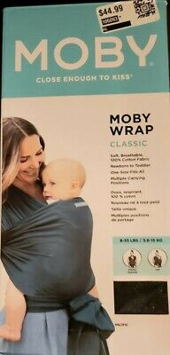 Moby Wrap Baby Carrier for Newborns + Toddlers Soft Baby Sling Baby Wrap,Pacific