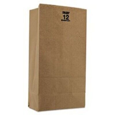 Disposable Grocery Paper Bags Gusseted Heavy Duty 500 Count 57 Lb Capacity Brown
