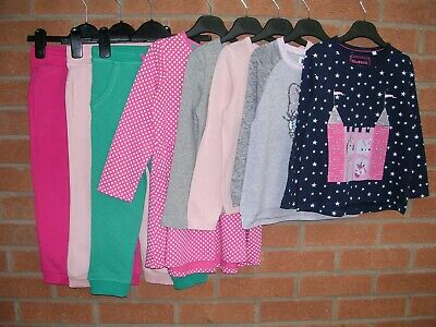 H&M BLUEZOO GAP MINI CLUB etc Girls Bundle Dress Tops Joggers Age 4-5 110cm