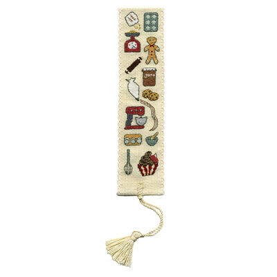 Baking - A Textile Heritage Counted Cross Stitch Bookmark Kit