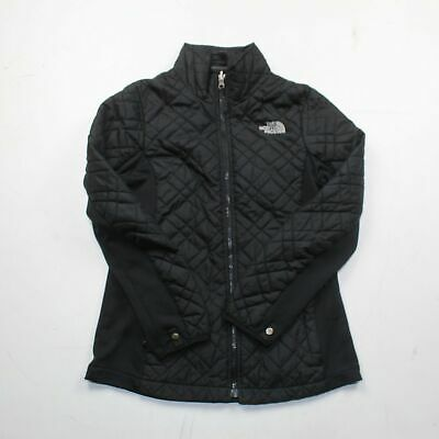 The North Face Girl's Black Quilted Jacket Size L (14/16)