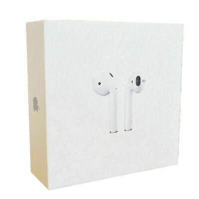 Apple Airpods White 2nd Generation MV7N2AM/A w/ Wired Charging Case @#@@