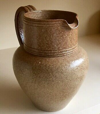 Vintage DEVICA Stoneware JUG Studio POTTERY Made In Portugal