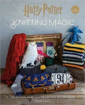 Harry Potter Knitting Magic - The official Harry Potter kn... Hardcover Book NEW
