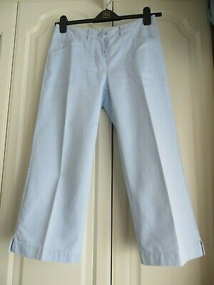 Ladies Girls 'Next'  Capri Trousers Jeans Size 10 with 'nextjeans' logo.