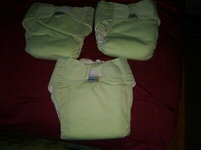Baby XL Blissful*booty kids Cloth reusable Diaper lot of 3 New