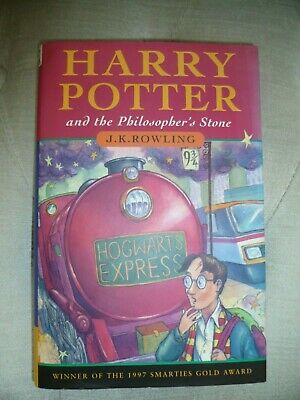 Harry Potter and the Philosopher's Stone 1st Edition 14th Print (Hardback 1997)