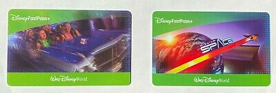 Two (2) Disney World One (1) Day Park Hopper Fast Pass Tickets (Good Until 2022)