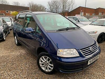 ✿2009/59 Volkswagen Sharan 1.9 TDI 115 SE, VW, Blue ✿TURBO DIESEL ✿NICE EXAMPLE✿