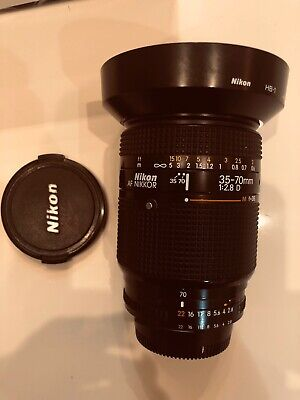 Near MINT Nikon AF Nikkor 35-70mm f/2.8D Wide Angle-Telephoto from Japan