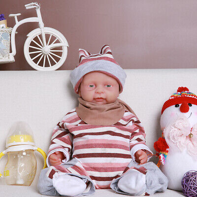 """Holiday Gifts IVITA 18""""Lifelike Silicone Reborn Baby Doll Children Playmate Toys"""