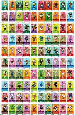 Animal Crossing Amiibo Cards * Series 1 * Mint * Never Scanned * You Pick!