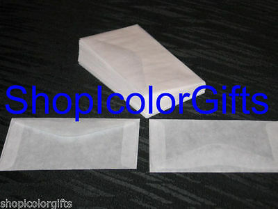 ShopIcolorGifts- 100 Brand New Glassine Envelopes Size #3 (2-1/2 x 4-1/4)