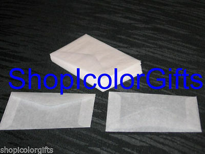 ShopIcolorGifts- 1,000 Brand New Glassine Envelopes Size #2 (2-5/16 x 3-5/8)