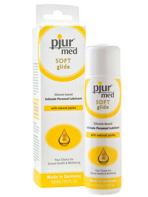 Anal Vaginal Silicone Lubricant Sensitive Lube Dry Mucous Pjur Soft Glide 100ml