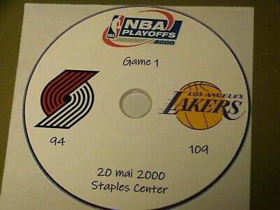 NBA Playoffs 2000 DVD Kobe Bryant Blazers Vs Lakers