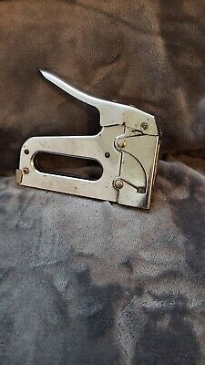 Arrow Fastener Co T50M Stainless Steel Heavy Duty Staple Gun Stapler GENUINE