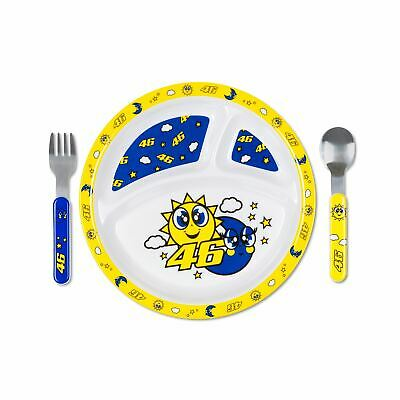 Valentino Rossi Baby Meal Set  VR46 MotoGP Sun & Moon Official 2020