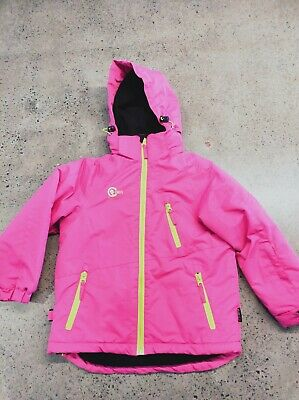 CHUTE snow ski girls JACKET Size 6 pink excellent condition