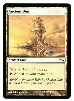 MTG Mirrodin Ancient Den X4
