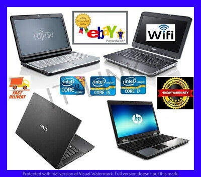 CHEAP FAST CORE i3 i5 i7 LAPTOP WINDOWS 7 or 10 OS, 4GB, 6GB, 8GB 16GB WARRANTY