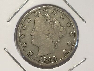 1883 US Liberty Head nickel. 137 years old.