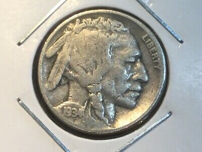 "1934  US ""Indian Head""  Nickel."