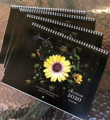 2020 Calendar - Clearance Sale - Flowers Wall Calendars