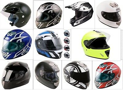 Job Lot of 22 Brand New Motorcycle Helmets - Motorbike £14.75 each if buying all
