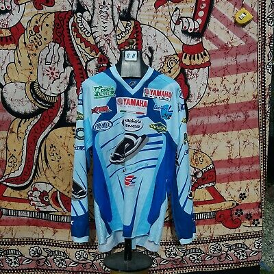 Rarissima Johnny Aubert Motocross Enduro Ufo Plast Xl Jersey World Champion