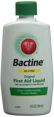 Bactine Original First Aid Liquid, 4 Fl Oz (Pack of 5)
