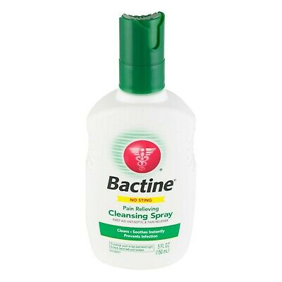 Bactine Pain Relieving Cleansing Spray 5 oz (Pack of 3)