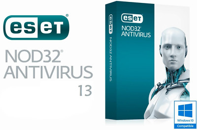 ESET NOD32 Antivirus 13 (1 PC / 1 Year) 1 Key