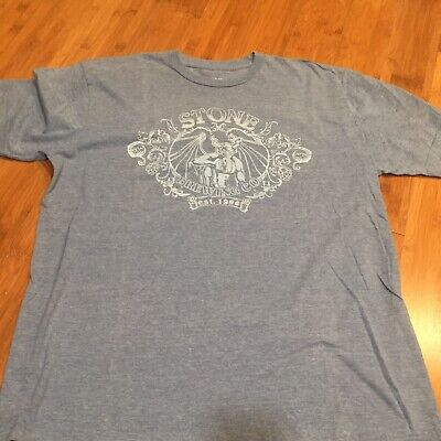 Stone Brewing Co. T-shirt XL Southern California Craft Beer Brewery San Diego