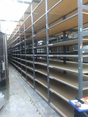 Heavy Duty Shelving 30 sections of 4'x2'x12', 8 sect. of 8'x2'x12'  AVAILABLE