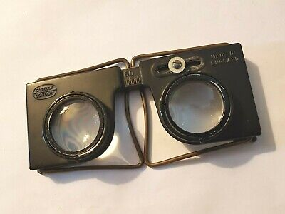 Vintage Casella hand held folding Stereo Stereoscope viewer c1960
