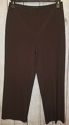 Womens Talbots Stretch Brown Dress Pants Size 8 Petite NEW WITH TAGS!
