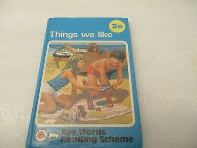 LADYBIRD BOOK KEY WORDS WITH PETER AND JANE 3a Things we like